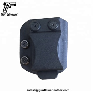 Kydex IWB Single Magazine Holder for Double Stack 9*19MM Magazine Tactical Accessory