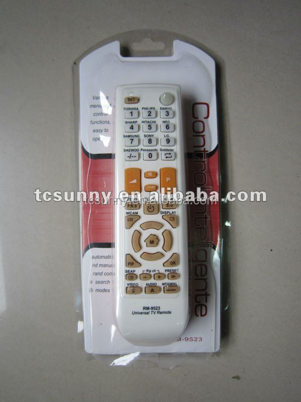 HR-E790 RM-9523 LCD/LED/HD TV REMOTE CONTROL CODES OEM