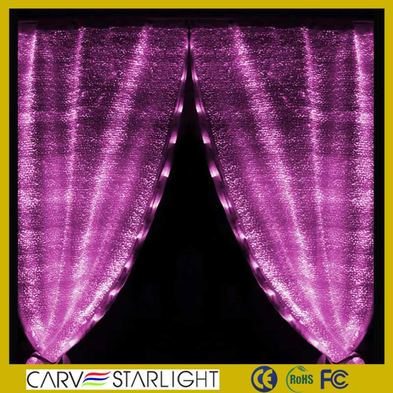 Flexible Led Twinkling Stars Led Indoor Curtain Fairy Lights DJ / Disco/ Hotel/ Restaurant /Stage/ Turkish Curtains