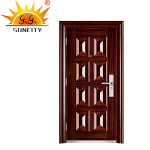 SC-A212 Turkey Armored Door Price, Safety Steel Wood Door Design