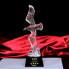 Crystal Awards Business Gifts Eagle Figurine Souvenir Trophy