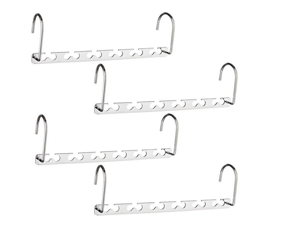 Get Quotations · EBDcom Closet Organization Hangers Saving Wardrobe  Clothing Magic Hangers Space Saving Hangers(4 Packs)