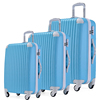 3pcs 20/24/28 inch ABS and PC Material Ladies Girls Men Traveling Luggage Cases With 4 wheels