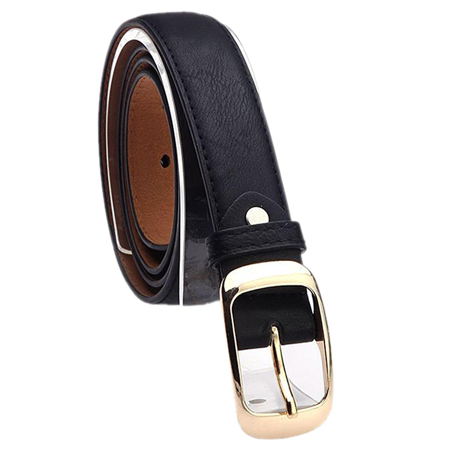 55d971c30 Get Quotations · CINUE gold waist belt wide leather belt dress belts skinny  brown belt Belts