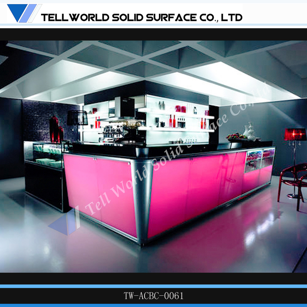Tell World High Standard Led Bar Furniture Illuminated Led