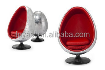 Pod Chair Aviator Aluminum Designer Chair Egg Chair YH 178