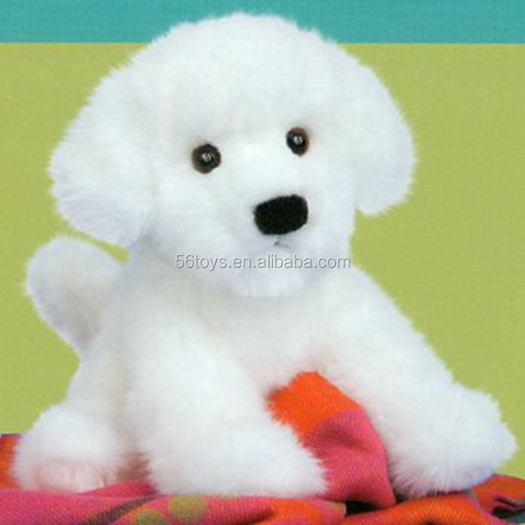 Life-size premium qulity choice large stuffed white dog <strong>animal</strong> wholesales