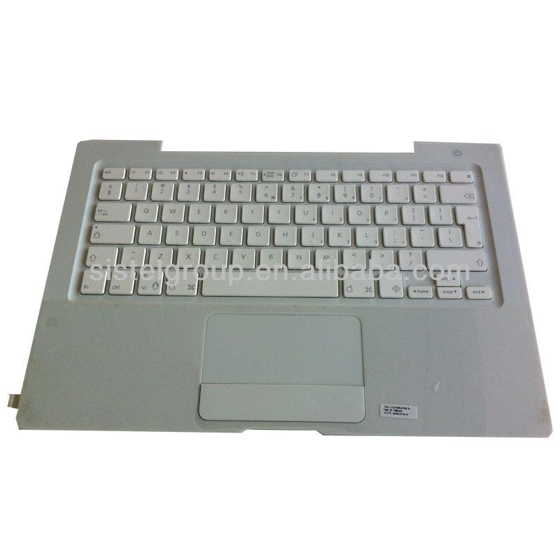 "Apple MacBook A1181 13.3"" White Palmrest w// Touchpad /& Keyboard lot of 5"