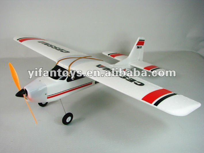 Tw 747 Epo Cessna Remote Control Airplane Hobby Kit Rc Plane For ...