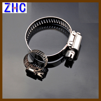 High Pressure Stainless Steel Hose Clamp American Type