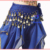 Girls Indian Dance Costume Hip Scarf Children Belly Dance Costumes Belt Kids Arab/ Egyptian Bollywood Performance Wear Coins