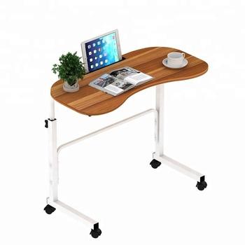 Adjustable Floor Stand Laptop Table Desk For Bed Sliding Computer