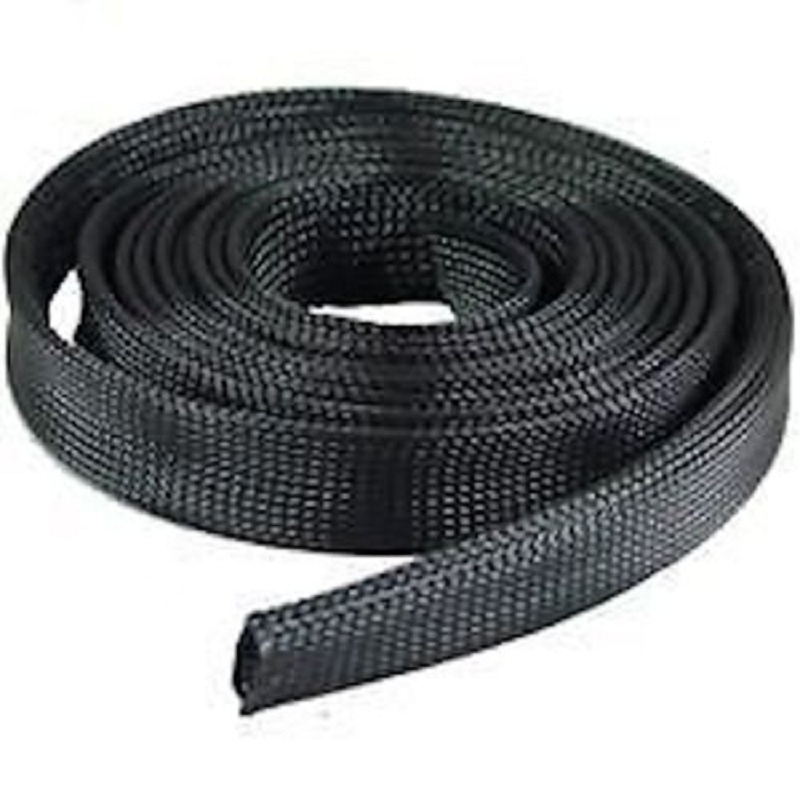 Hampool Factory Supplied Auto Wire Cable Lot Sleeving Sheathing 10M PET Expandable Braided Sleeve