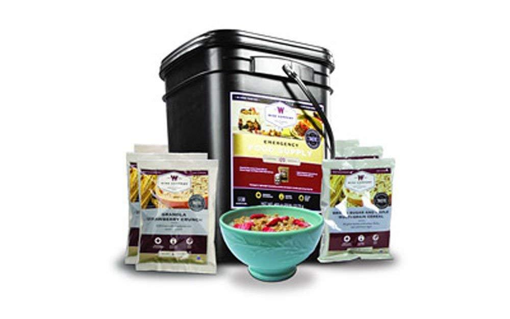 Wise Foods Grab N Go Bucket Breakfast 120 Servings Dehydrated/Freeze Dried