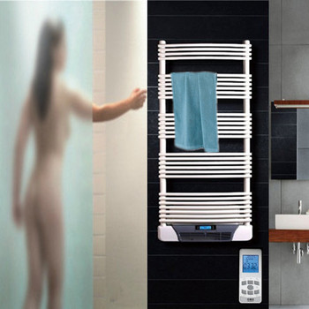 Superbe Oil Filled Electric Towel Warmer Bathroom Fan Heaters With Remote Control