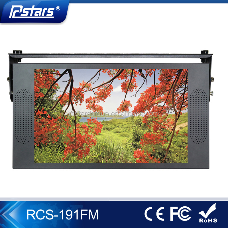 19 inch bus type lcd monitor with ceilng mount(RCS-191FM)