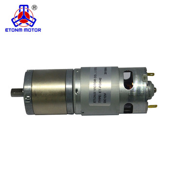 Big engine 42mm dc gear motor 24 volt 12v dc gearmotor motor planetary gearbox
