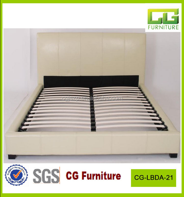 leather bed cream colored bedroom furniture