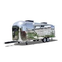 UKUNG Mobile Airstream / Caravan Trailer For Sale / Food Concession Trailer For Sale