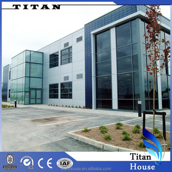Two Storey Modular Prefabricated Office Building Houses