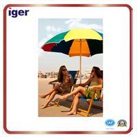 custom wholesale compact sun clamp beach chair umbrella