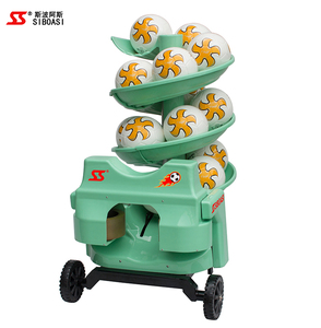 China factory S6526 intelligent remote control Football soccer ball launcher machine