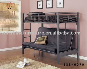 Mordern Convertible Metal Bunk Sofa Beds