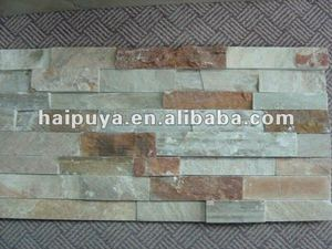 slate glue ledgestone panel