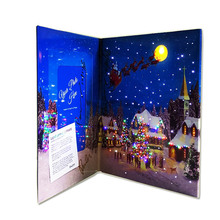 25*20*2 cm di Alta qualità HA CONDOTTO L'illuminazione Up paper Photo Frame per Natale