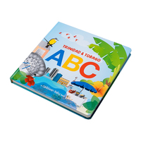 Guangzhou book printing vender hard cover children board book printing services