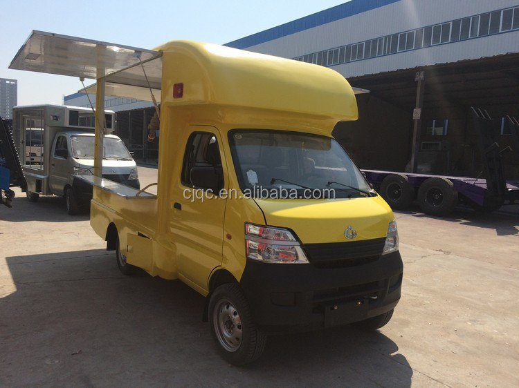 New Design Hot Sale Bottom Price Gasoline Type Mobile Catering Truckmini Food Truck