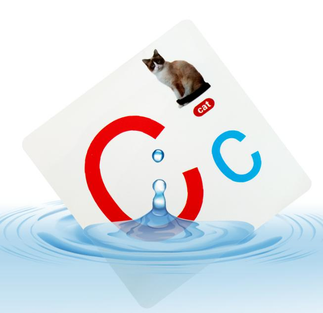 waterproof learning cards for kids Children educational cards