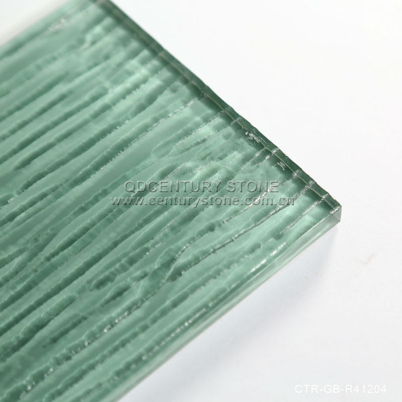 Light Green Wavy Surface Tiles Gl Subway Tile 3x6 Product On Alibaba