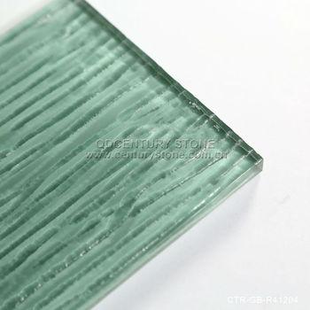 Light Green Wavy Surface Tiles Glass Subway Tile Buy