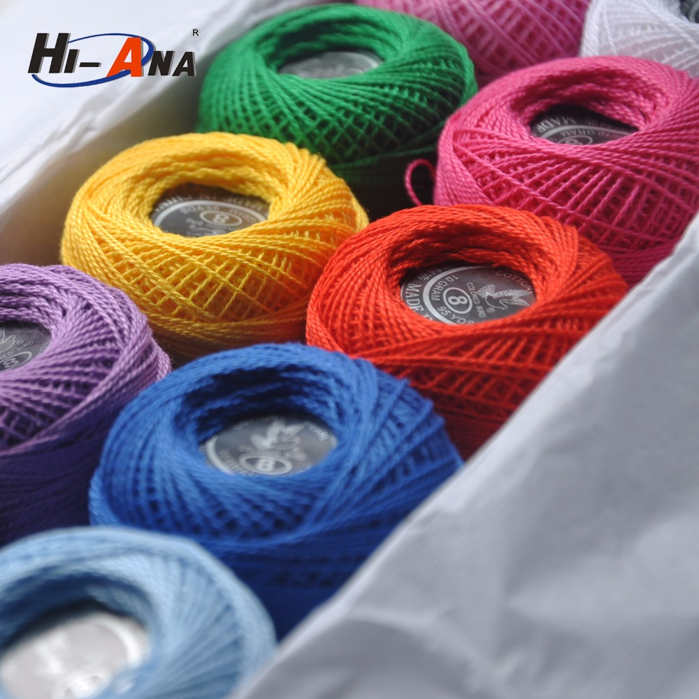 Our factories 20 years'experience Good supplying size 10 cotton crochet thread