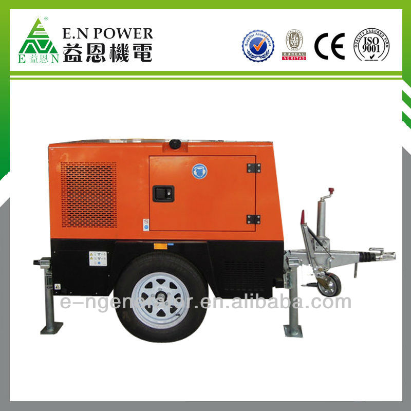generator trolley with Lighting Tower 4x1000w lamp