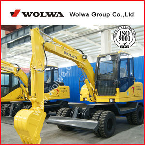 Efficient and durable 7ton china mini excavator