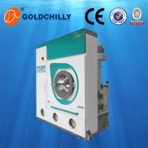 Chemical wash machine perc dry cleaning solvent