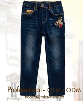Girls In Tight Jeans With Embroidery,Kids Jeans Embroidery Pocket ...
