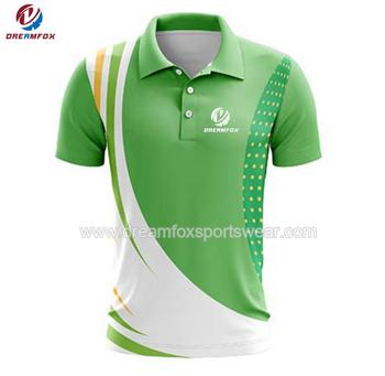 2018 Fashion Customize Golf Polo Designed Golf T Shirt Womens Polo