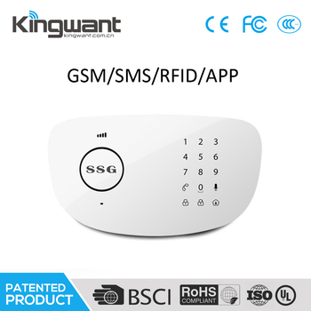 Factory Price Promotion Wireless House Alarm System 433Mhz Long Range  Communication