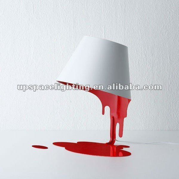 Modern home decorative table lamp made in china Liquid table lamp