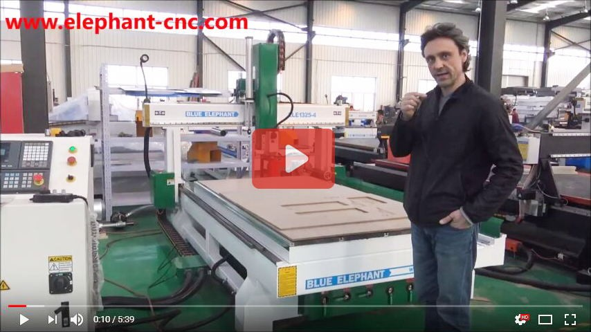 Discounted Price Jinan 1530 Atc 4 Axis Cnc Router Cnc