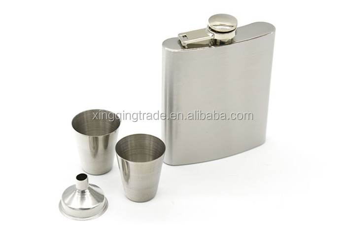7oz ounce Personalized Groomsmen gift ,best man gift stainless steel hip flask