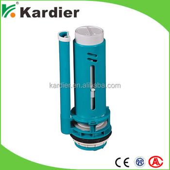 water saving quiet flush toilet valve high pressure toilet fill valve