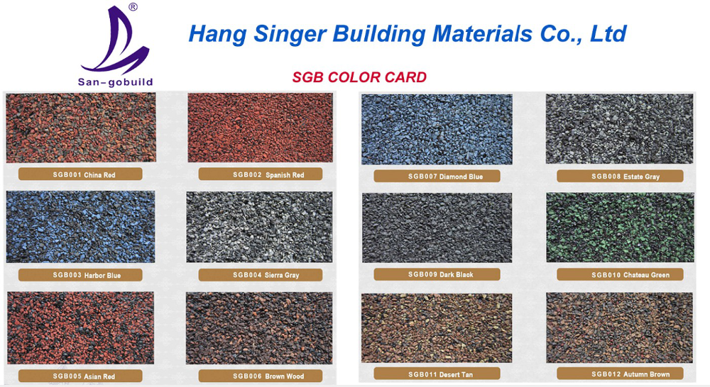 Factory Wholesale Price Asphalt Shingle Blue Roofing