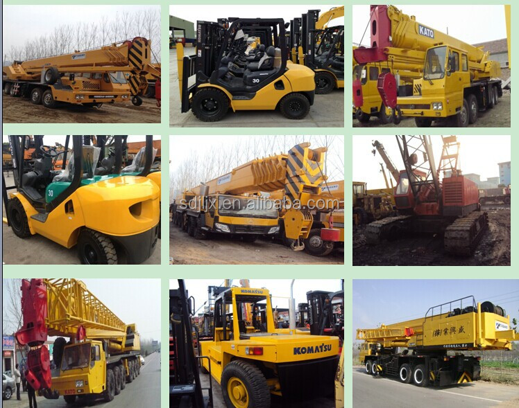 Made In China Xcmg 130 Ton Used Crane Mobile Cranes