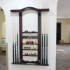 Beautiful and convenient high quality snooker cue rack