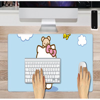 Hot sales Logo sublimation mouse neoprene play mat