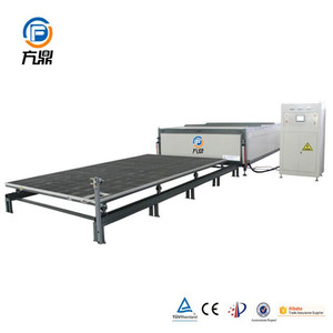 Germany technology float tempered double glass laminating machine
